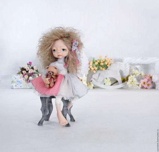 """Коллекционные куклы ручной работы. Ярмарка Мастеров - ручная работа. Купить """"Фаюшка"""" Коллекционная кукла. Handmade. Бледно-розовый, игрушка"""