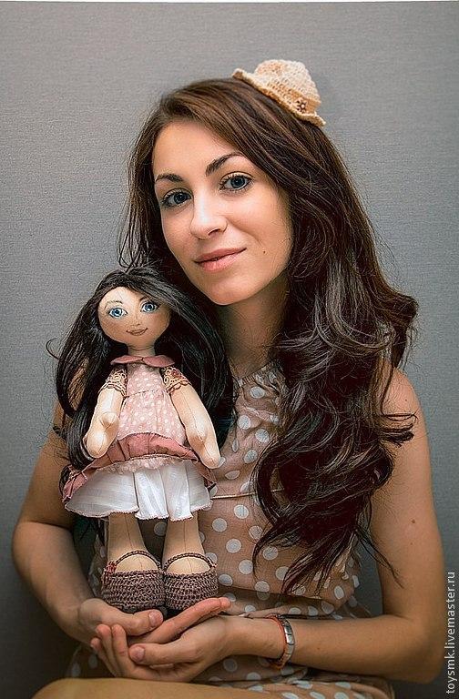 Куклы тыквоголовки ручной работы. Ярмарка Мастеров - ручная работа. Купить Кукла по фотографии: Женечка. Handmade. Кукла ручной работы