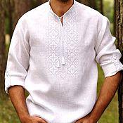 Рубашки ручной работы. Ярмарка Мастеров - ручная работа Мужская рубаха. Handmade.