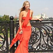 "Одежда ручной работы. Ярмарка Мастеров - ручная работа ""Lady in red"". Handmade."
