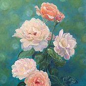 Картина маслом Любимые розы
