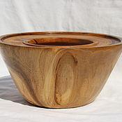 Графины ручной работы. Ярмарка Мастеров - ручная работа Чаша из ореха,чаша для сухих цветочных композиций,икебаны,декор офиса. Handmade.