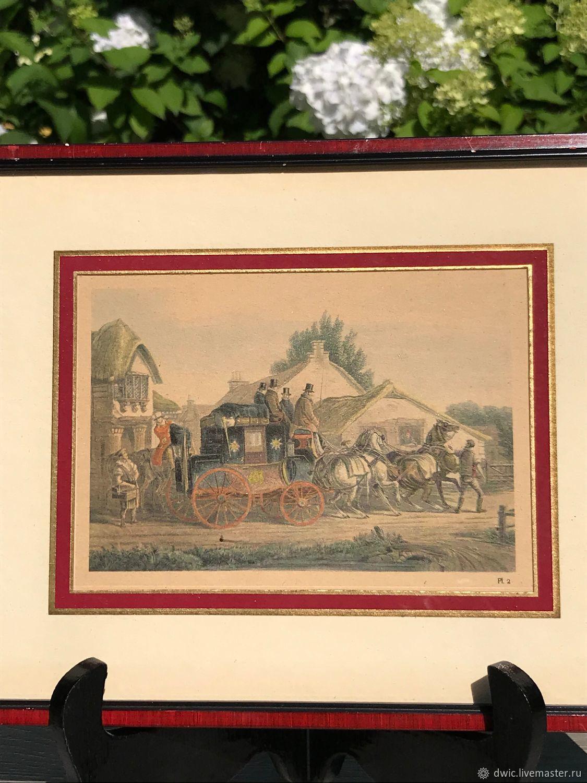 Panel art print 'Voyage', Holland, Vintage interior, Arnhem,  Фото №1