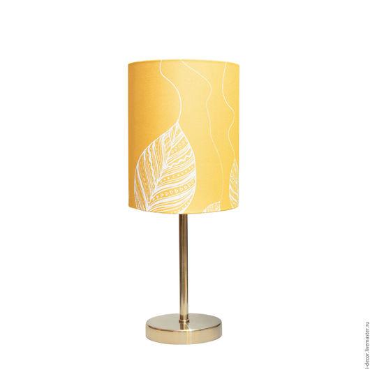 Настольная лампа с дизайнерским абажуром из коллекции Шары. Весна. Оригинальная настольная лампа - прекрасный подарок на свадьбу и новоселье. Подарок для дома. Ночник