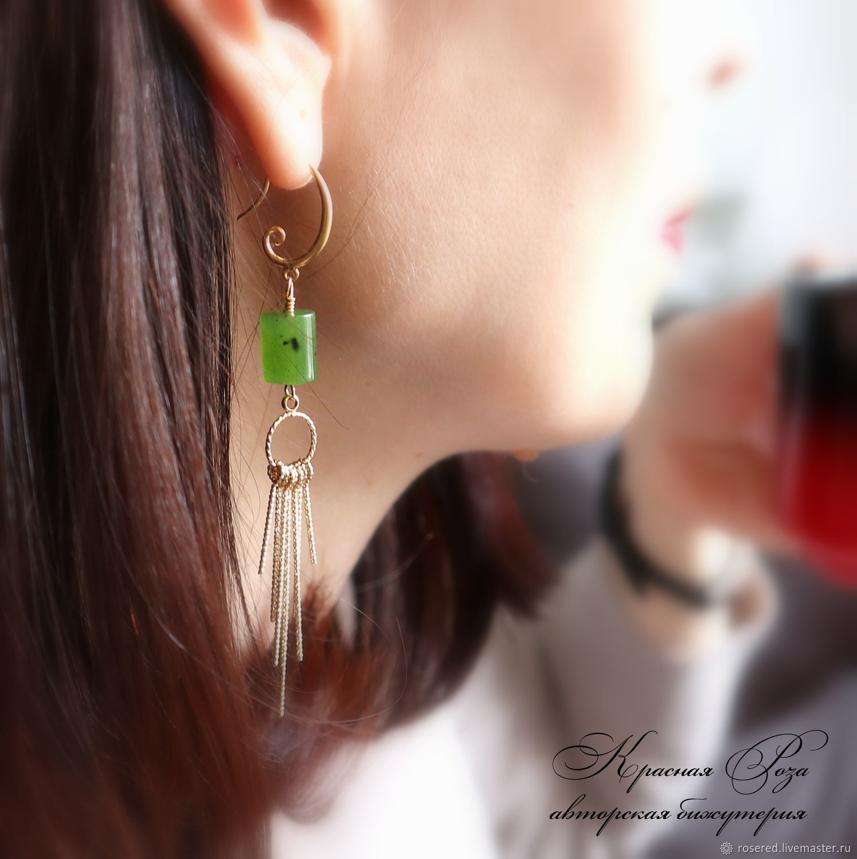 EARRINGS ' SURYA', Earrings, Stupino,  Фото №1