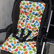 Работы для детей, ручной работы. Ярмарка Мастеров - ручная работа Матрас в коляску. Handmade.