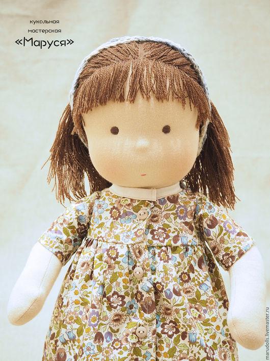Вальдорфская игрушка ручной работы. Ярмарка Мастеров - ручная работа. Купить Вальдорфская куколка. Handmade. Кукла ручной работы, шерсть