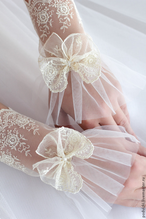 Кружевные перчатки своими руками фото 822