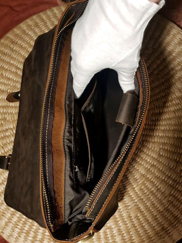 f3fabc58f167 Купить Мужской кожаный портфель Сумки и аксессуары ручной работы. Мужской кожаный  портфель, модель 'Софокл'.