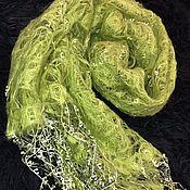 Шали ручной работы. Ярмарка Мастеров - ручная работа Палантин-шарф. Handmade.