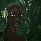 Картины и панно ручной работы. Ярмарка Мастеров - ручная работа Тропический лес. Handmade.