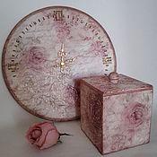 Для дома и интерьера handmade. Livemaster - original item Watch two boxes