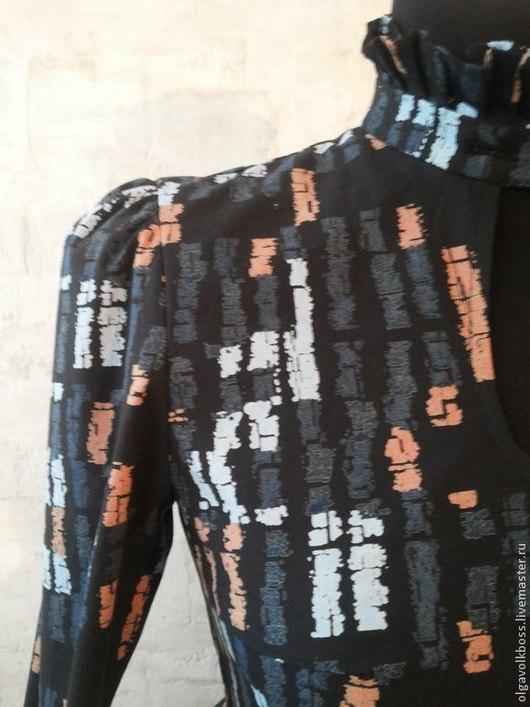 Платья ручной работы. Ярмарка Мастеров - ручная работа. Купить Платье Скарлет. Handmade. Черный, Коктейльное платье, дизайнерская одежда