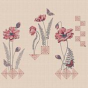 """Материалы для творчества handmade. Livemaster - original item Дизайны машинной вышивки набор """"Винтажный этюд"""" плотное заполнение. Handmade."""