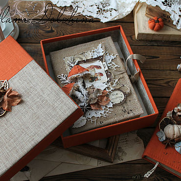 Souvenirs and gifts handmade. Livemaster - original item Gift box red for the book. Handmade.