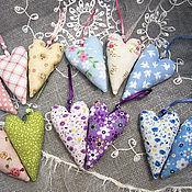 Куклы и игрушки ручной работы. Ярмарка Мастеров - ручная работа Текстильное сердечко тильда. Handmade.