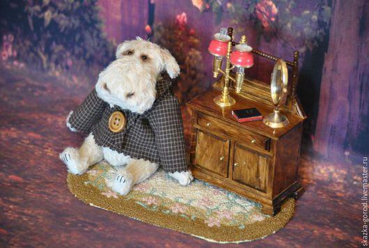 """Мишки Тедди ручной работы. Ярмарка Мастеров - ручная работа. Купить Бегемотик """"Джордж"""". Handmade. Подарок, игрушка ручной работы"""