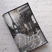 Канцелярские товары handmade. Livemaster - original item passport cover Paris. Handmade.