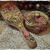"""Сувениры и подарки ручной работы. Ярмарка Мастеров - ручная работа Комплект """"Розовый букет"""". Handmade."""