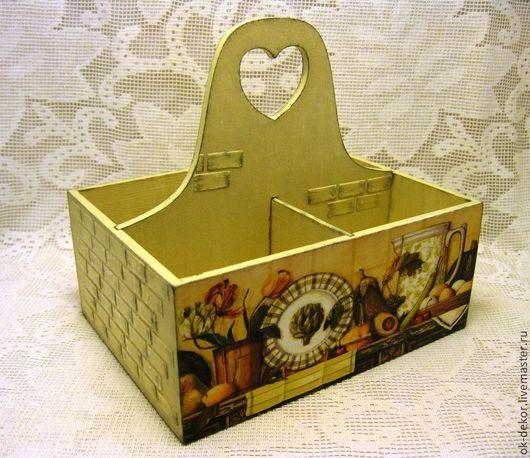Корзины, коробы ручной работы. Ярмарка Мастеров - ручная работа. Купить Короб для специй  Кухонные штучки -2. Handmade.