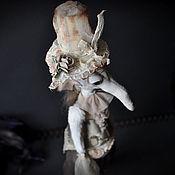 """Куклы и игрушки ручной работы. Ярмарка Мастеров - ручная работа Крыса Игрушка Серия """"Мамзели"""" Мамзелик в бежевом. Handmade."""