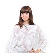 """Одежда ручной работы. Ярмарка Мастеров - ручная работа Шёлковая блуза """"Нежность"""". Handmade."""