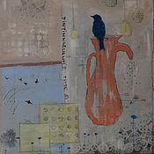 """Картины и панно ручной работы. Ярмарка Мастеров - ручная работа Абстракция """"Время колокольчиков"""". Handmade."""