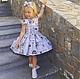 Одежда для девочек, ручной работы. Ярмарка Мастеров - ручная работа. Купить Платье для девочки. Handmade. Белый, нарядное платье, yansonsdomik