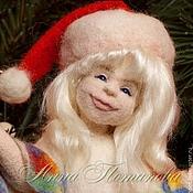 Куклы и игрушки ручной работы. Ярмарка Мастеров - ручная работа Авторская войлочная кукла Декабрюшка. Handmade.