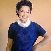 Одежда handmade. Livemaster - original item Summer blouse short sleeve. Handmade.