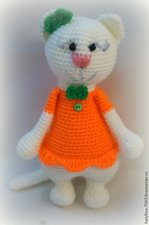 Игрушки животные, ручной работы. Ярмарка Мастеров - ручная работа. Купить Кошечка. Handmade. Разноцветный, котик, котенок, котики, котята