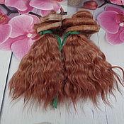 Куклы и пупсы ручной работы. Ярмарка Мастеров - ручная работа Куклы и пупсы: Волосы для кукол. Handmade.