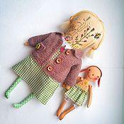 Куклы и игрушки ручной работы. Ярмарка Мастеров - ручная работа Кукла с вышивкой. Handmade.