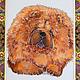 """Животные ручной работы. Ярмарка Мастеров - ручная работа. Купить Декоративное панно """"Чау - Чау"""". Handmade. Рыжий, собака, портрет"""