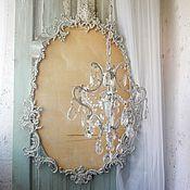 Для дома и интерьера handmade. Livemaster - original item kit. The lust and the frame for the mirror