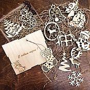 Подарки к праздникам handmade. Livemaster - original item Christmas set