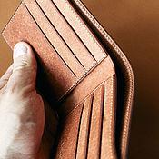Сумки и аксессуары handmade. Livemaster - original item Men`s wallet handmade of genuine leather. Handmade.
