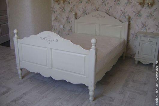 Мебель ручной работы. Ярмарка Мастеров - ручная работа. Купить Деревянная кровать (003). Handmade. Кровать, дерево