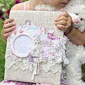 Фотоальбомы ручной работы. Ярмарка Мастеров - ручная работа Фотоальбом для девочки. Handmade.