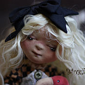"""Куклы и игрушки ручной работы. Ярмарка Мастеров - ручная работа Текстильная кукла """" ALICE"""". Handmade."""