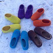 Обувь ручной работы. Ярмарка Мастеров - ручная работа Чувяки - тапки для дома. Handmade.