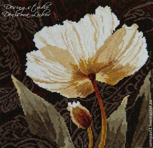 """"""" Белые цветы. залитый светом"""""""