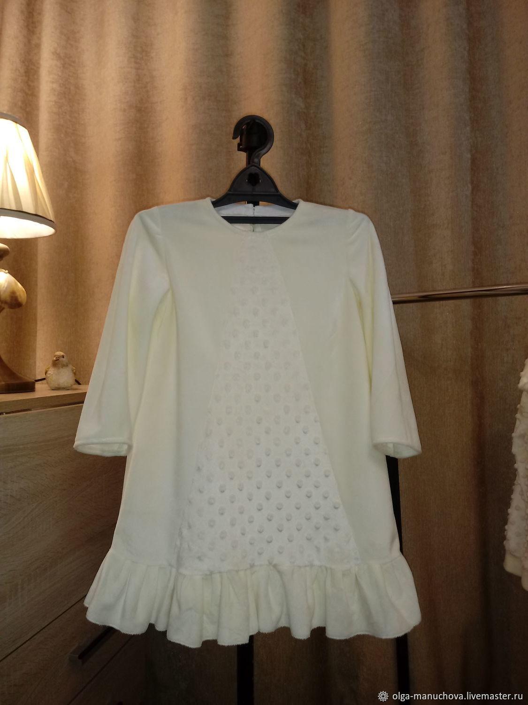 Платье из плюша-велюра, Платья, Челябинск,  Фото №1