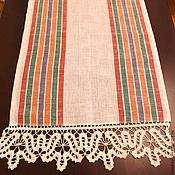 Для дома и интерьера handmade. Livemaster - original item Kitchen towel linen Tyulpanyi. Handmade.