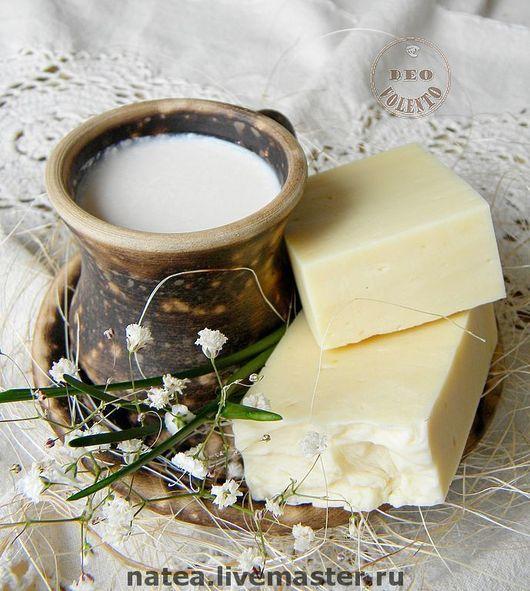 """Мыло ручной работы. Ярмарка Мастеров - ручная работа. Купить Натуральное мыло """"Dairy Cream"""". Handmade. Детское мыло, белый"""