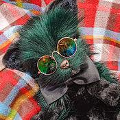 Куклы и игрушки handmade. Livemaster - original item Green Cat. Handmade.