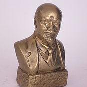 Сувениры и подарки handmade. Livemaster - original item Brass bust of Lenin V. I.. Handmade.