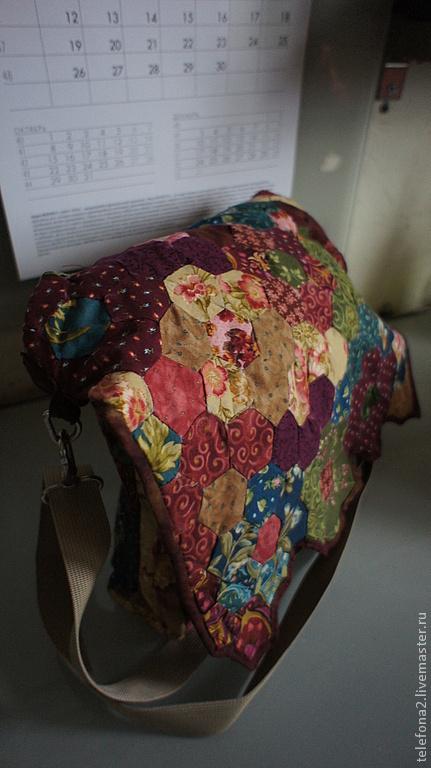 Женские сумки ручной работы. Ярмарка Мастеров - ручная работа. Купить легкая сумка. Handmade. Цветочный, Квилтинг и пэчворк
