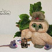 Куклы и игрушки handmade. Livemaster - original item OWL. Handmade.