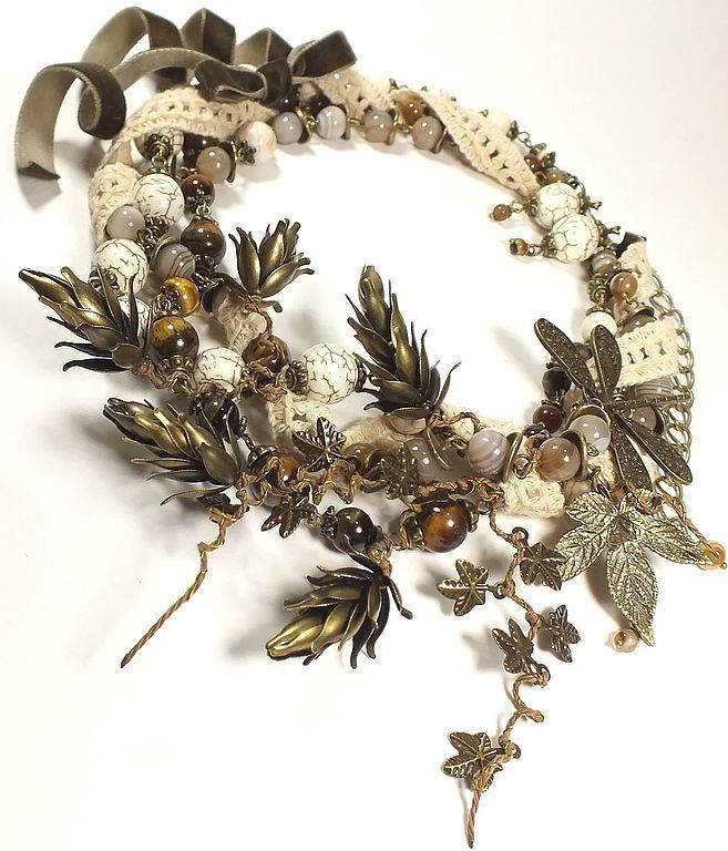 Vanilla Hops. necklace, earrings. jewelry set, Jewelry Sets, St. Petersburg,  Фото №1